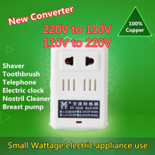 Voltage Converter 2 mode AC 100W 110V/120V to 220V/240V US-EU Transformer Power Converter Adapter Led Toothbrush Electronic clo