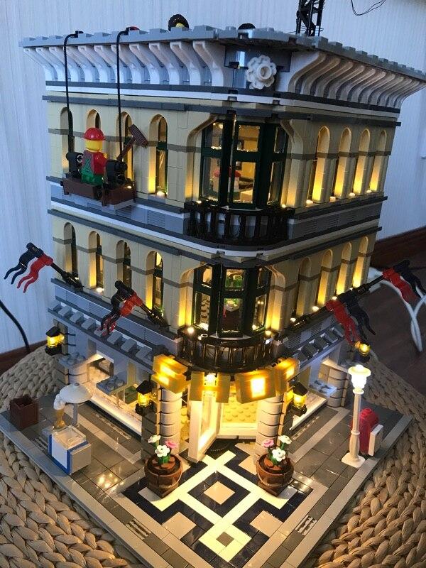 Led 라이트 업 키트 레고 10211 크리에이터 그랜드 엠포 리움 핀 15005 호환 빌딩 모델 제외-에서블록부터 완구 & 취미 의  그룹 2
