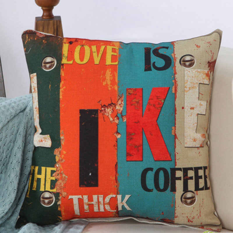 Ретро чехлы на декоративные подушки, наволочка, наволочки, наволочки, 45x45 см, Cojines Decorativos Para Sofa Housse De Coussin Kussenhoes