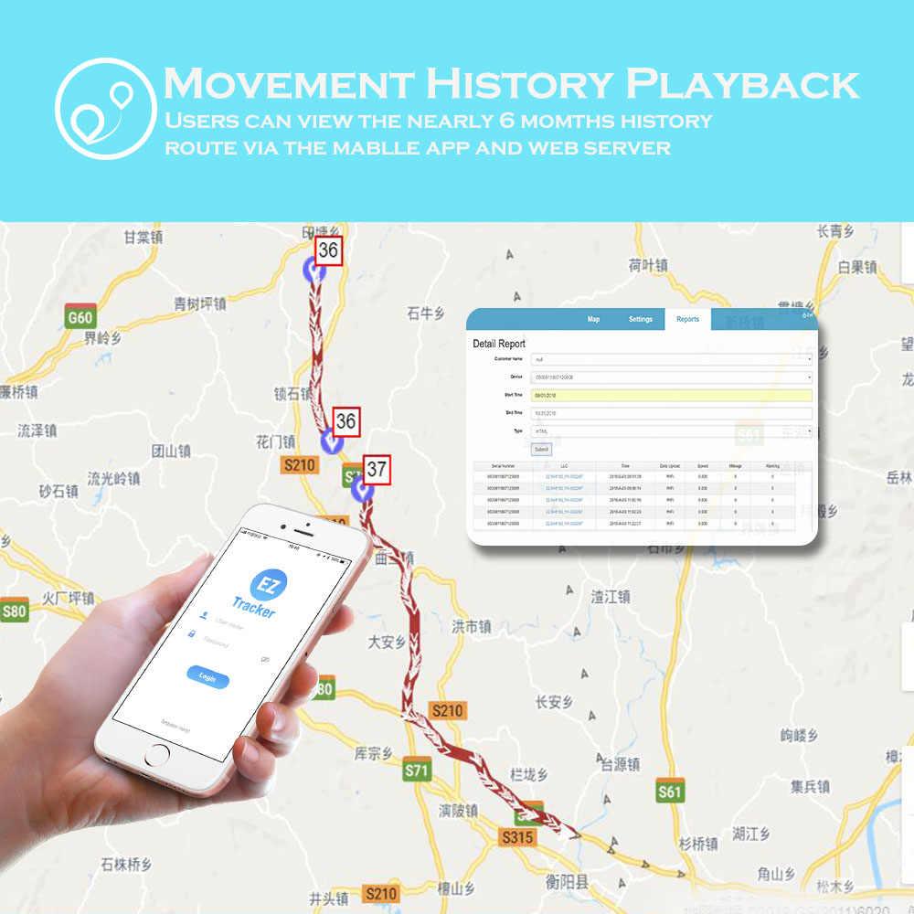GPS Tracker Car TK12 Tkstar Locator 90 Days Standby Vehicle Locator Magnet  Waterproof SOS Vibration Alarm Free APP Lifetime