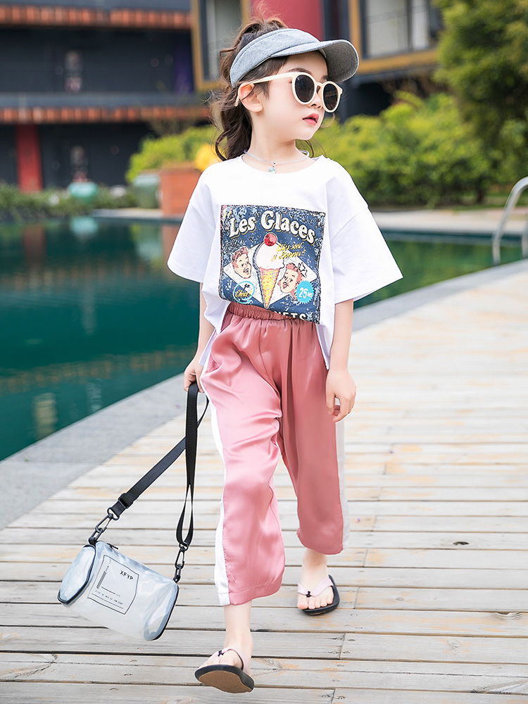 4th Of July Outfit 2019 Girl Summer Clothes Toddler Girl Clothes Tracksuit Kids Teen Clothes 10 12 Years Teenage Kiz Bebek Giyim|Clothing Sets| |  - title=