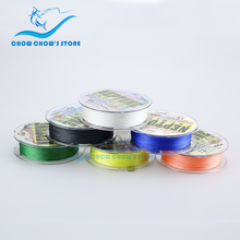 Wholesale100M Multifilament PE Braided Fishing Line Floating Multicolor Super Strong 4 Strands linhas multifilamento para pesca