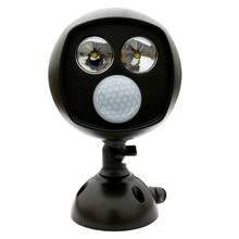 Buy wireless motion activated led security light and get free alloet super bright motion activated pir sensor wireless twin security light aloadofball Images
