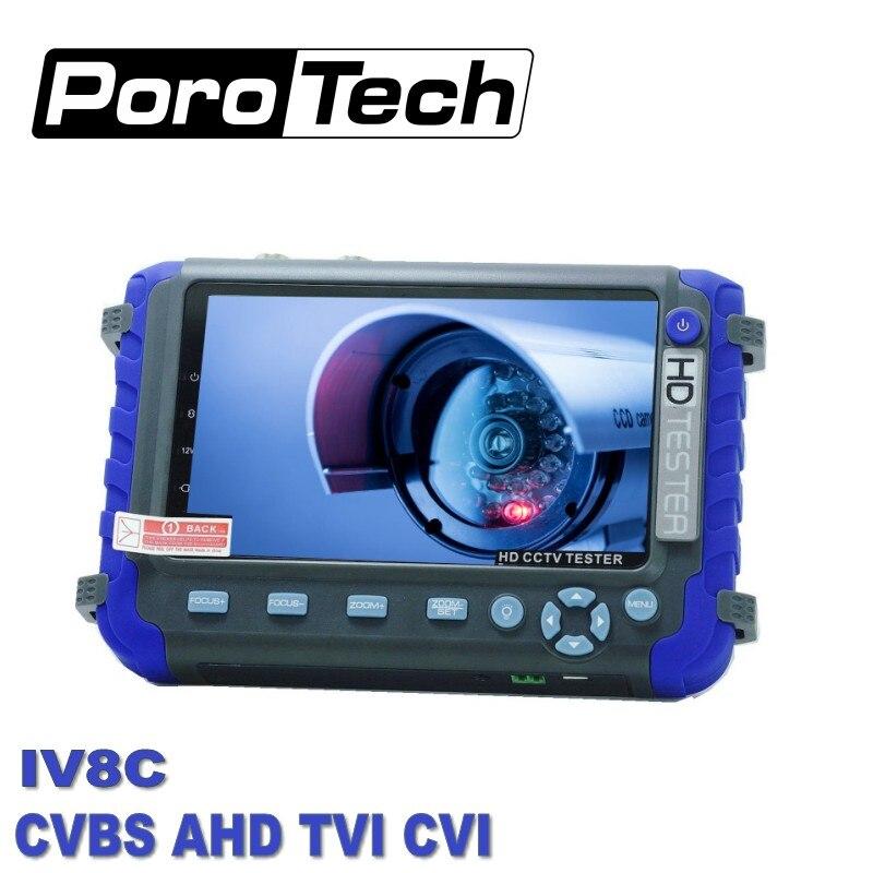 Testeur de Surveillance vidéo IV8C 5