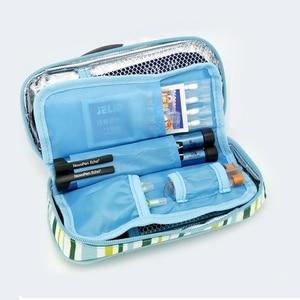 Image 4 - アポロインスリンクーラーバッグポータブル絶縁糖尿病インスリントラベルケースクーラーボックスボルサ Termica 600D アルミ箔アイスバッグ