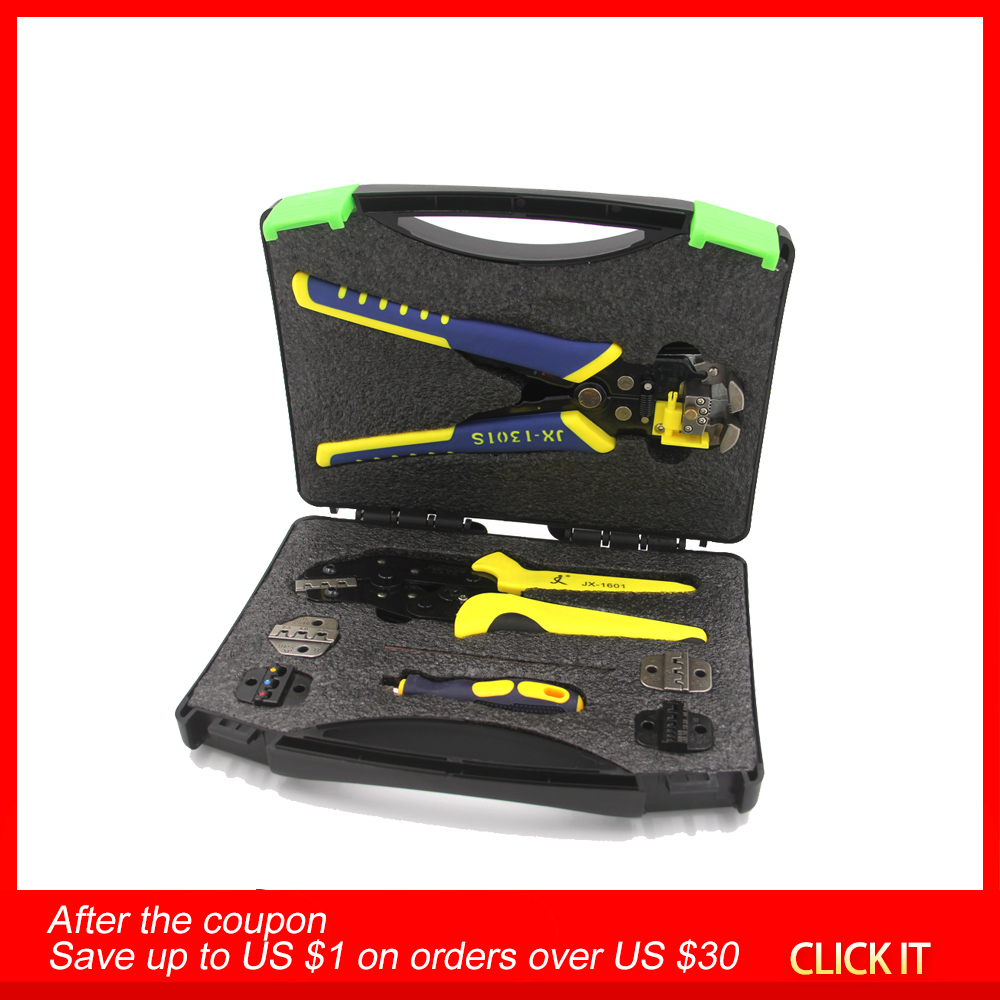 Multitul Wire Crimpers Engineering Ratcheting Terminal Crimping Pliers Wire Strippers Crimping Tool +Cord End Terminal Multitool