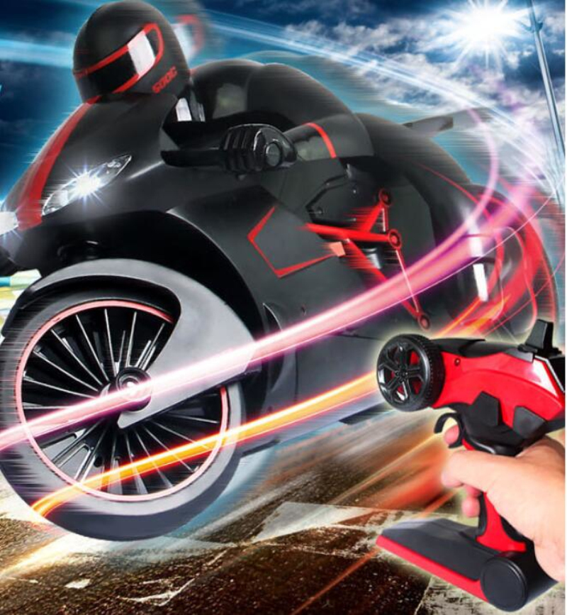Hot simulation Smart remote control electric rc toy 333-931B 2.4g 4ch 30km/h high speed stunt drift off road Motorcycle for kids