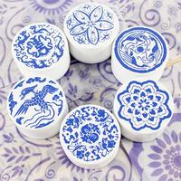 Vintage Cute Chinese Style 6pcs Lot 6design Rubber Stamp Diy Wooden Scrapbooking Rubber Stamps Free Shipping