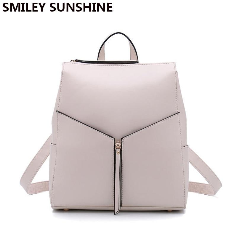 Fashion female genuine leather women backpack feminine backpack for teenager girls school <font><b>bag</b></font> backbag schoolbag 2018 sac a dos