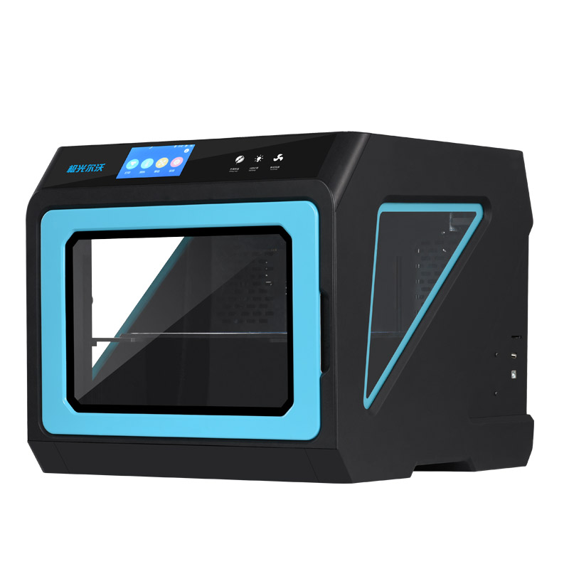 New Upgrated Closed Metal 3d Printer A7 with Multicolor Touch-screen, Removable Extruder Part Functional 3d Printing Machine