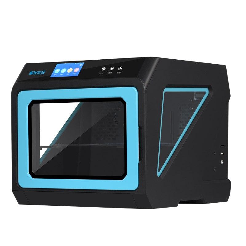 Nouvelle imprimante 3d en métal fermé améliorée A7 avec écran tactile multicolore, Machine d'impression 3d fonctionnelle de partie d'extrudeuse amovible