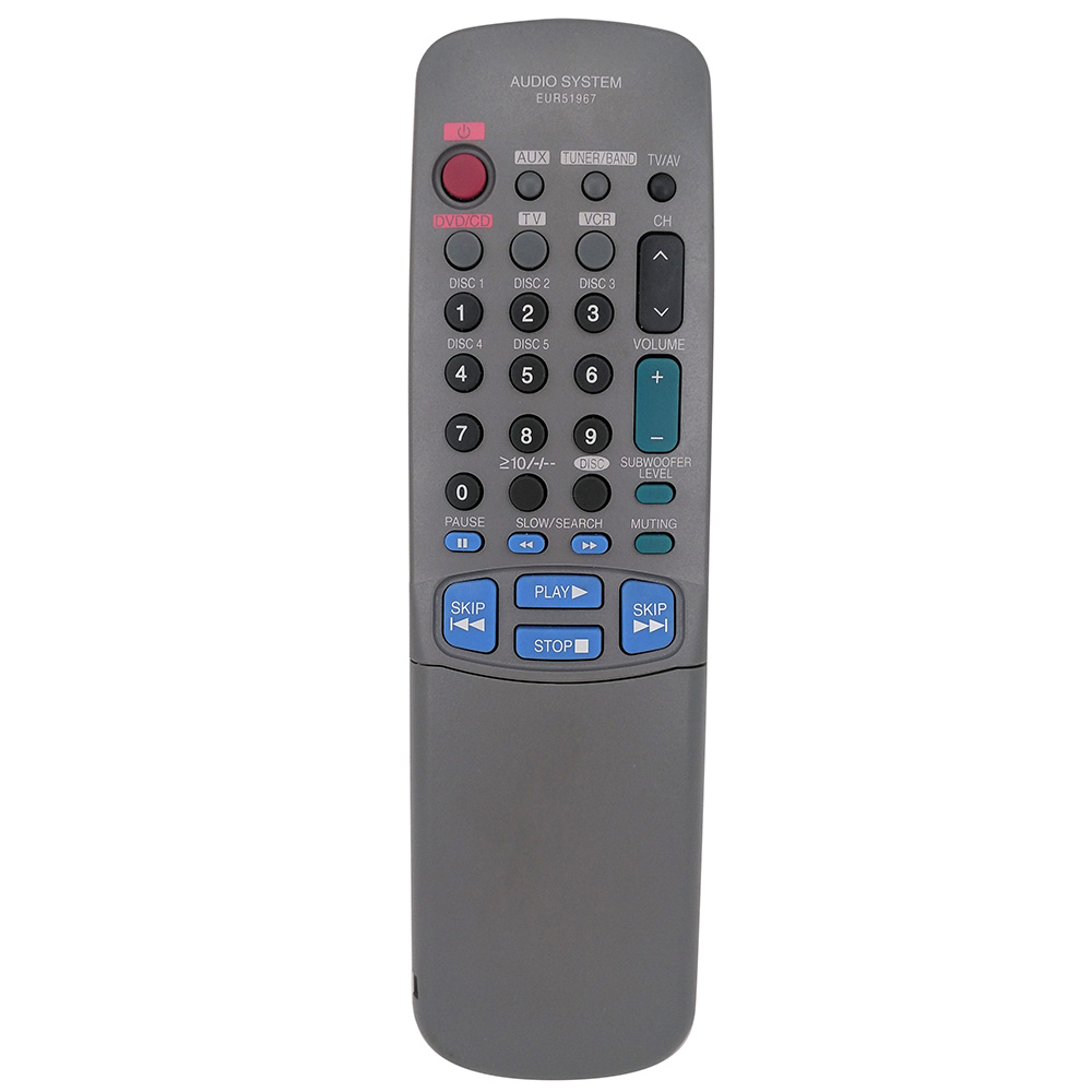 Оригинальный пульт дистанционного Управление EUR51967 домашнего кинотеатра стерео для Panasonic DVD аудио системы remoto Управление e EUR51967 Бесплатная д...