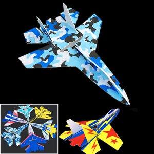 Image 2 - Vaste Vleugel Model Su27 Rc Vliegtuig Met Microzone MC6C Zender Met Ontvanger En Structuur Onderdelen Voor Diy Rc Vliegtuigen