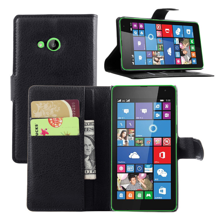 Luxury Case For Microsoft Nokia Lumia 535 Dual Sim 5.0 Wallt Flip Case For Nokia Lumia 535 Cover Leather Mobile Phone Bags Case