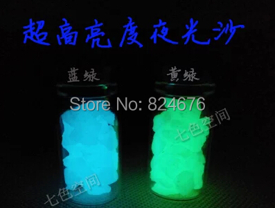 Free shipping,500g/lot Luminous Stone Sand Storage Light Decoration Spall Glow in the dark for Glass bottle Fishbowl. free shipping oktoberfest events 11 5ft led glow in the dark inflatable lighting can model for toys