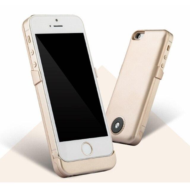Новое Прибытие Смарт Литий-Полимерный Резервное Копирование Клип Случай Питания 5SA Тип 2000 МАЧ Для Iphone5 Iphone5S Высокое Качество