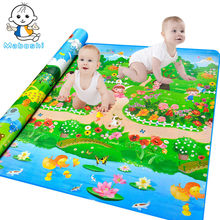 Maboshi Waterproof Quality Children Play Mat Botanical Garden+Forest Park Kids Game Mat Soft Eva Foam Carpet Baby Crawling Mat(China)