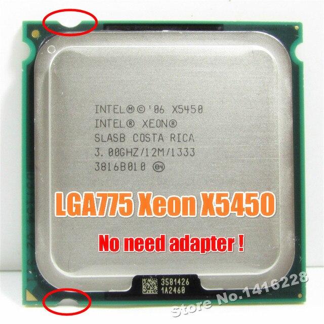 Xeon X5450 процессор 3,0 ГГц 12 MB 1333 MHz SLBBE SLASB близко к Core 2 Quad q9650 работает на LGA775 материнская плата