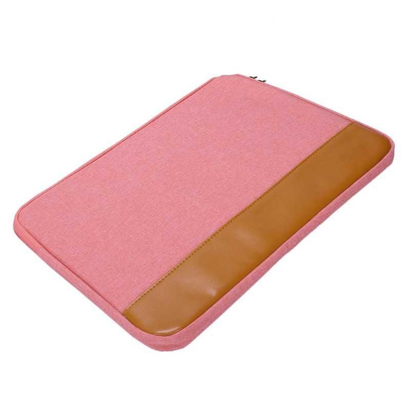 14-15.4 بوصة كم كمبيوتر محمول جراب للماك بوك برو الهواء Ultrabook دفتر اللوحي الكمبيوتر المحمولة لينة زيبر حقيبة ل Xiaomi