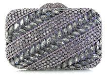 PP3-1 Kristall Abendtasche Clutch Pfau diamant pochette soiree Frauen abend handtasche hochzeit clutch tasche