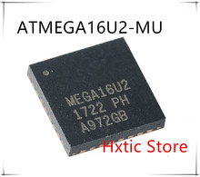 10pcs/lot ATMEGA16U2-MU ATMEGA16U2 MEGA16U2 QFN-32 IC  new and original