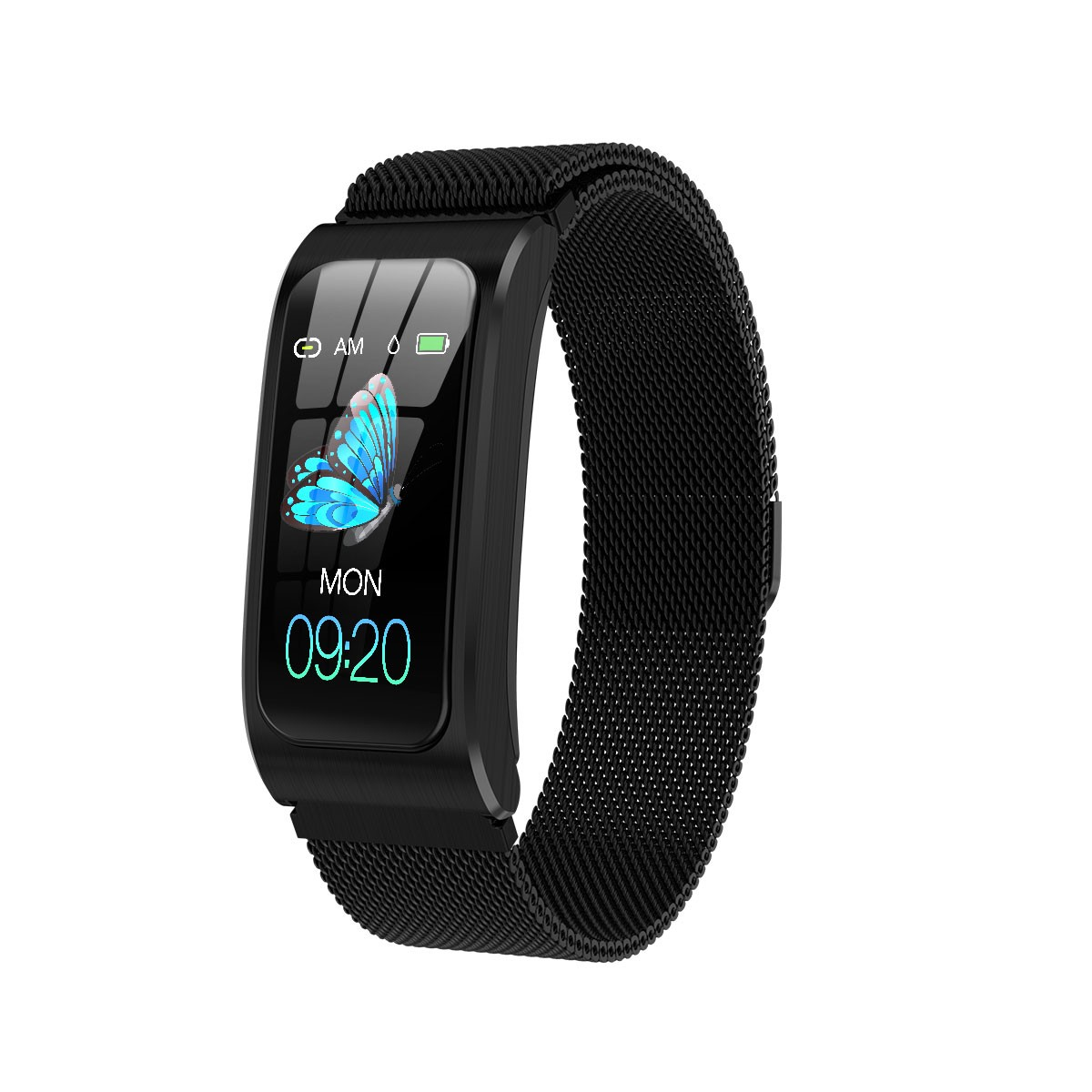 """Smartwatch 1,14"""" IP68 impermeable Android IOS 19"""