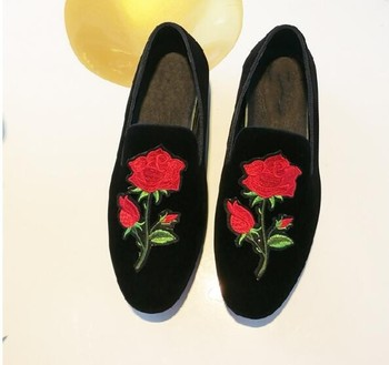 Fashion Hot New Summer Spring Hot Men's Driving Loafers Flat heel Velvet Man Wedding Party Shoes