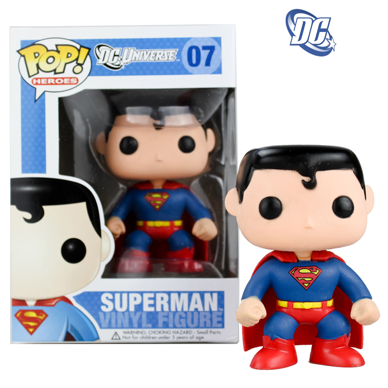 Funko Pop Superstore Toys Comics Collectibles: Original Funko Pop DC Universe Comics Superman (Classic