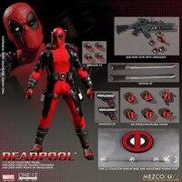 Mezco Marvel Deadpool X Men Super Hero One 12 Collective BJD Figure Toys 16cm
