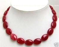 New 13x18mm Red Natural stone new Necklace 17