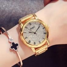 Reloj Pulsera de Cuarzo de Las Mujeres Relojes de Oro de Acero de lujo Luminoso Reloj Rhinestone Señoras Reloj Reloj Relogio Feminino Hodinky