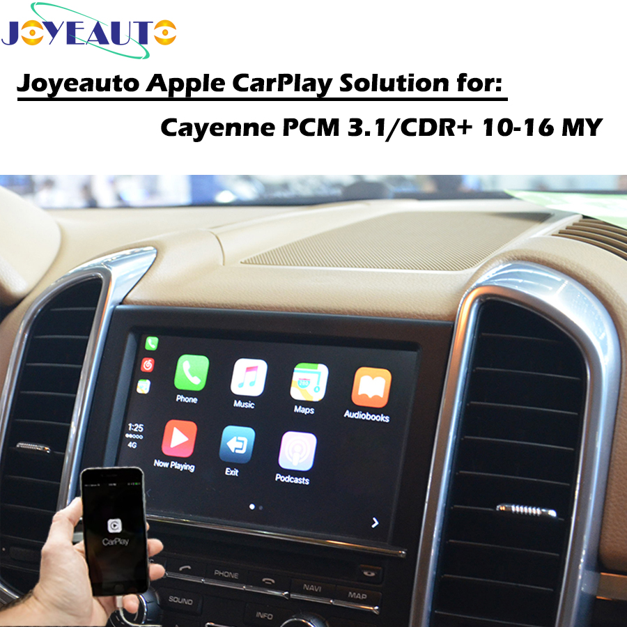 US $377 46 19% OFF|Adapter Multimedia Apple CarPlay Upgrade Retrofit for  2010 2016 Porsche Cayenne Macan Cayman Panamera Boxster 718 911 991  PCM3 1-in