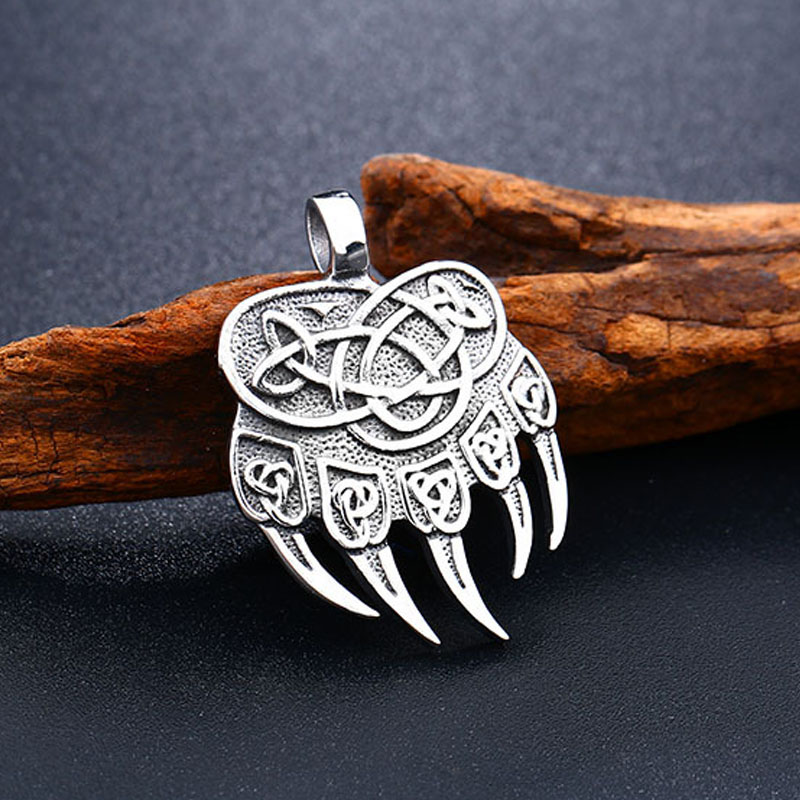 Pendentifs Viking ours griffe  1