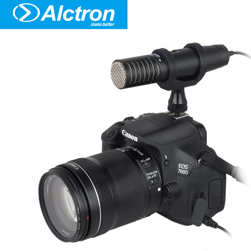 Photography Interview Audio Video Condenser DSLR Microphone Clip-On Mic Recorder Recording for Nikon Canon DVPhotography Interview Audio Video Condenser DSLR Microphone Clip-On Mic Recorder Recording for Nikon Canon DV