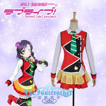 Anime LoveLive2 Tojo Nozomi Cosplay Costume Palgantong SUNNY DAY SONG SJ Uniform Full Set For Halloween Custom-Make Any Size