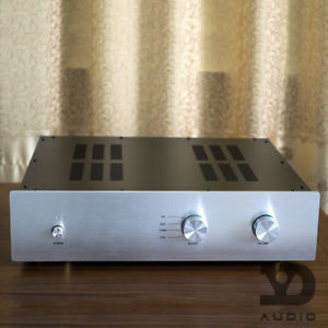 Assembled M1-Hi-end preamp ON MJE15032 MJE15033 gold sealing tube amplifier free shipping 10pcs mje15033g 10pcs mje15032g mje15033 mje15032 to 220
