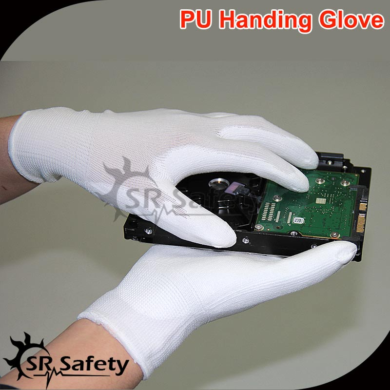 SRSAFETY 1 Pairs Anti Static Gloves ESD Safe Gloves Anti static Non slip Industrial Working Gloves