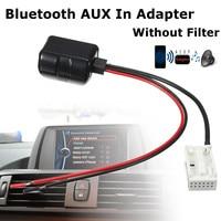 New Car Bluetooth Aux Receiver 12 Pins Adapter Radio Speaker A2DP For BMW E60 E61 E63