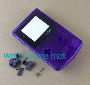 Image 5 - 5 colors Full Housing Shell Case Cover Replacement For Nintendo GBC Gameboy Color Console
