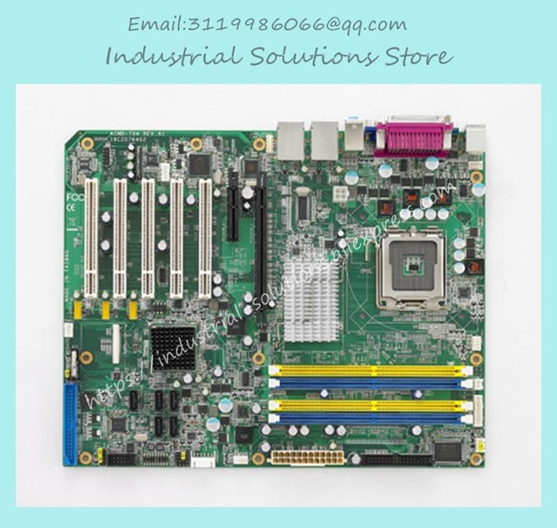 industrial motherboard AIMB-764 REV.A1 AIMB-764G2 LGA775 board 100% tested perfect quality m945m2 945gm 479 motherboard 4com serial board cm1 2 g mini itx industrial motherboard 100