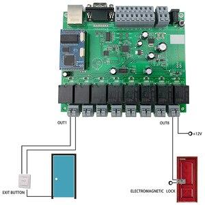 Image 4 - 스마트 홈 자동화 모듈 컨트롤러 네트워크 tcp ip 릴레이 제어 domotica 원격 app/pc 시스템 8 스위치 채널 8ch 센서