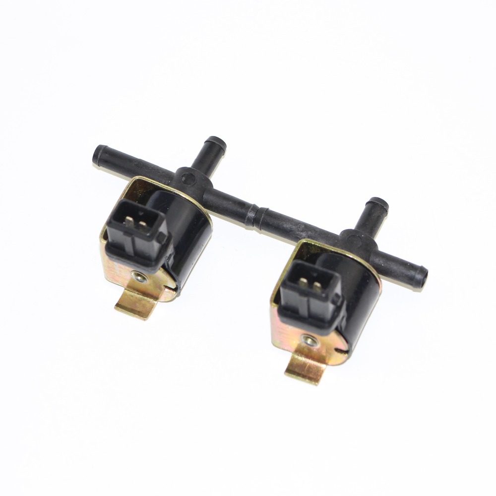 2Pcs Car <font><b>1.8t</b></font> Turbo Charged Solenoid Circulation <font><b>Valve</b></font> For VW Golf GTI Jetta Passat A4 TT A4 Quattro 058906283C 058 906 283 C image