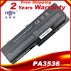 HSW batterie dordinateur portable Pour TOSHIBA PA3536U 1BRS PA3537U 1BRS PABAS100 PA3536 PA3536U Satellite P200 10G Pour Toshiba Equium P200 P300