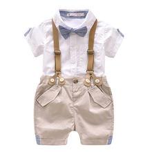 Детская одежда Летний хлопковый Детский костюм повседневный