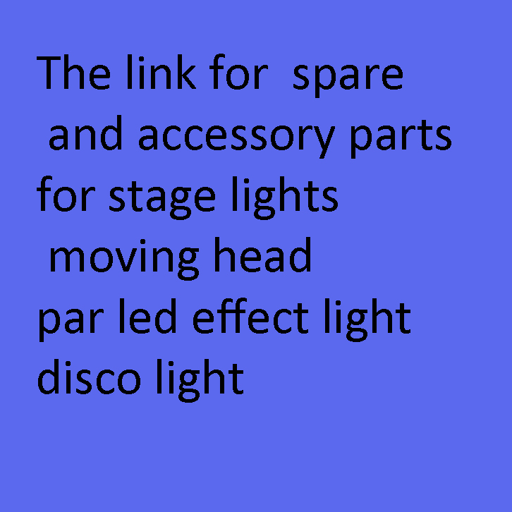 Special light spare and accessory parts for stage lights moving head par effect light disco light