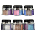New Arrival 6 Color Eyeshadow Powder Palette Pigment Gitter Loose Mineral Eye Shadow Cosmetic Set