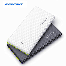 10000mAh Portable Fast Charging Battery Mobile Power Bank Dual USB Output Li-Polymer Charger Powerbank For iphone For Samsung