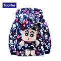 2016 Fashion Children Parkas Coat Boy Girl Winter Warm Thicken Hooded Cute Cartoon Print Outerwear All-match Coats Child Clothes