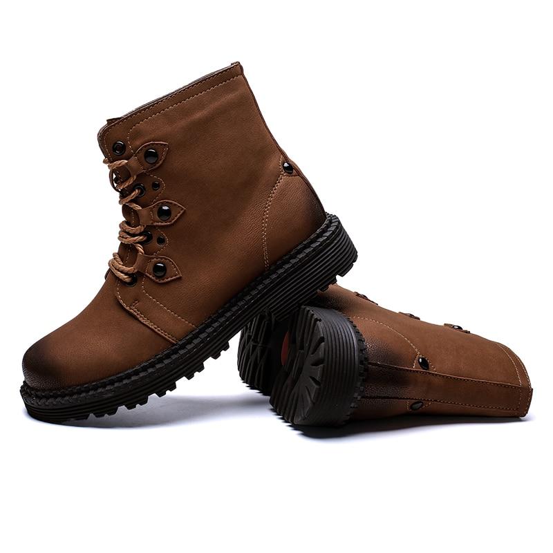 Bottines Et Homme 46 Automne 9901green Hiver Cuir Taille Hommes La 9901brown En 9901black Neige Plus Travail Chaussures Printemps Bottes De 38 Xzpxqw