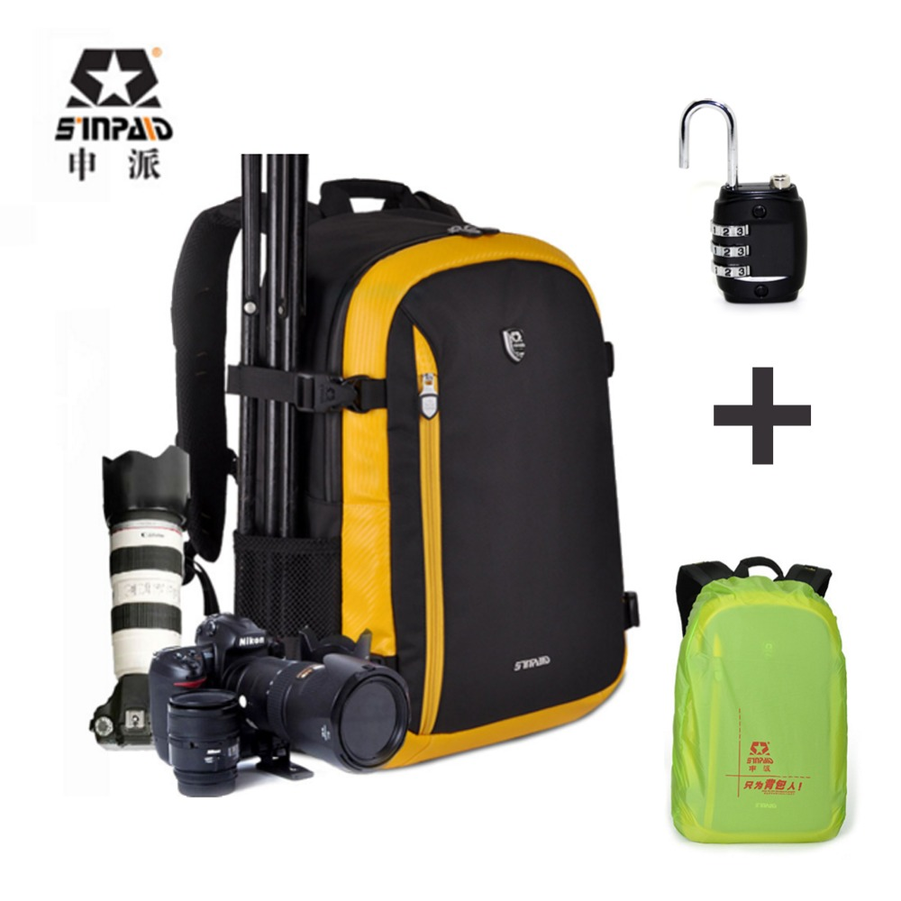 Sinpaid SY-01 Waterproof Photography Camera/video Bag Outdoor Sport Backpack Male Camera Carry Case For Slr Dslr Camera bag sinpaid professional digital camera travel backpack waterproof dslr slr photography bag cases for canon rebel nikon sony pentax